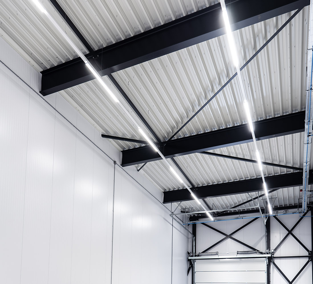 Helder licht in werkruimte